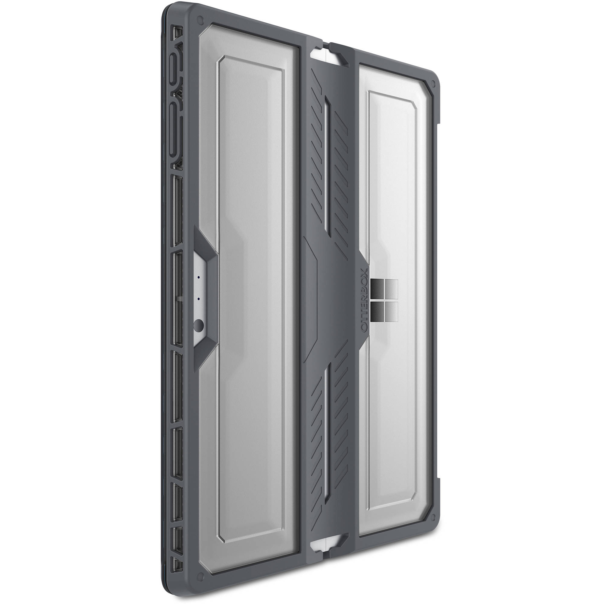 the latest f15f1 9ffc4 OtterBox Symmetry Series for Microsoft Surface Pro 4, Slate