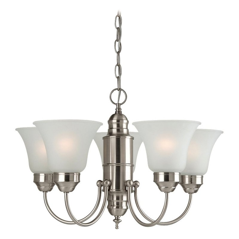 Sea Gull Lighting Linwood 31236-962 5-Light Chandelier - 22 diam. in. - Brushed Nickel