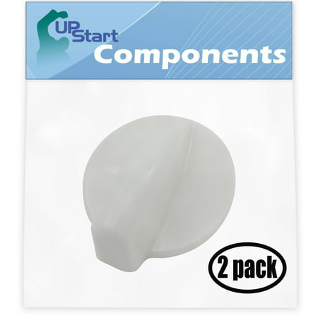 2 Pack Replacement Dryer Timer Knob WP8181955 for Whirlpool GHW9300PW4 Residential Washer ()