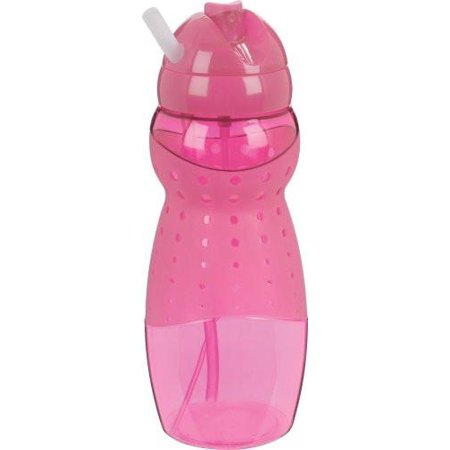 Trudeau 0871356 CR, Mist 19-Ounce Hydrator Bottle Breast Cancer Research  Foundation, Pink