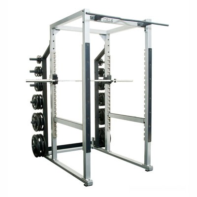 York Barbell ST Power Rack - Silver