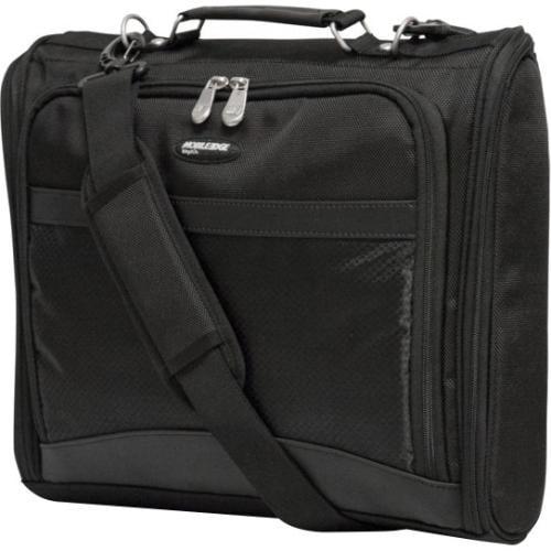 "Mobile Edge Express Carrying Case (Briefcase) for 14.1"" Notebook, Ultrabook - Black - Ballistic Nylon - Handle, Shoulder"