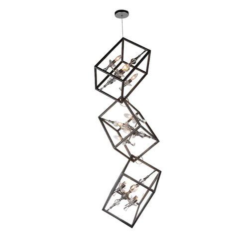 Cwi Lighting Tapi 12 Light Pendant