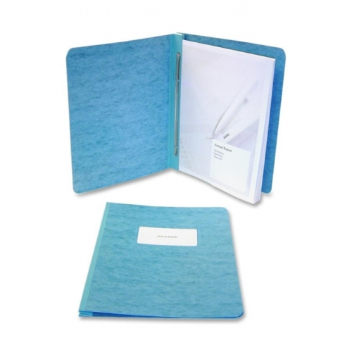 Acco 25073 Presstex Report Cover, clip Prong, Letter, 3'' Capacity, Dark Blue - image 1 de 1