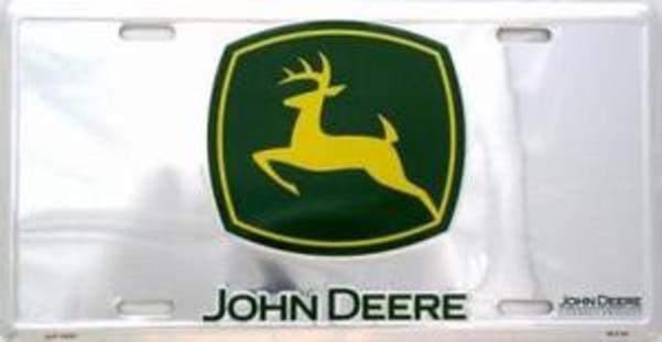 John Deere Front License Plate