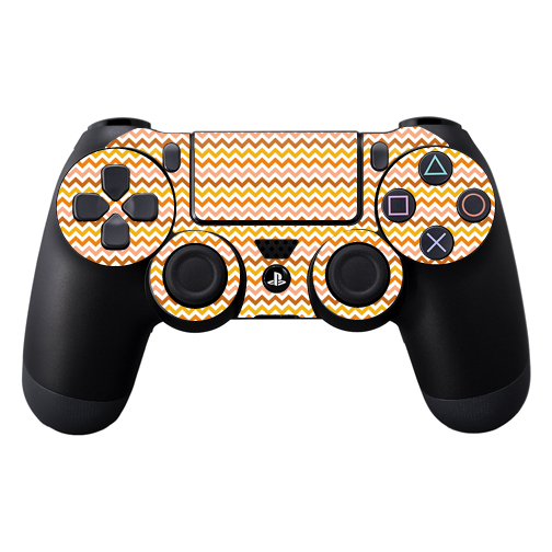 Mightyskins Protective Vinyl Skin Decal Cover for Sony PlayStation DualShock 4 Controller wrap sticker skins Harvest Chevron