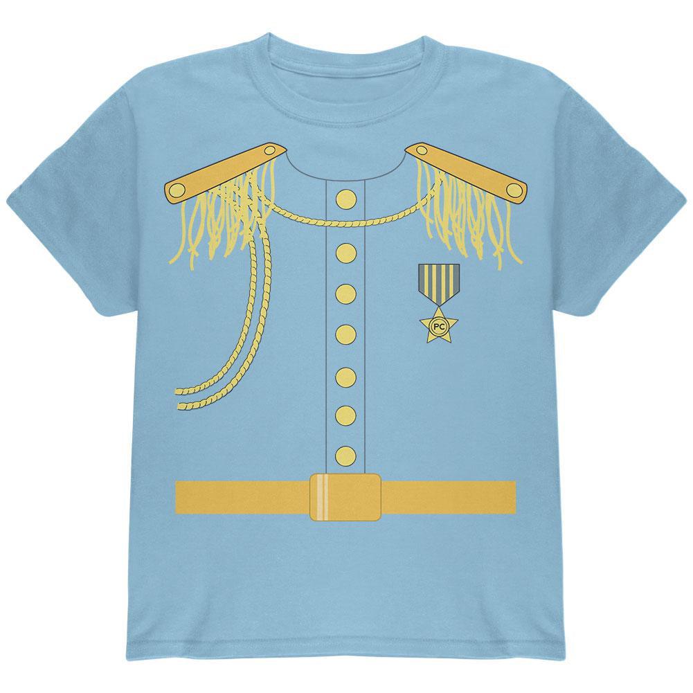 Halloween Prince Charming Costume Light Blue Youth T-Shirt