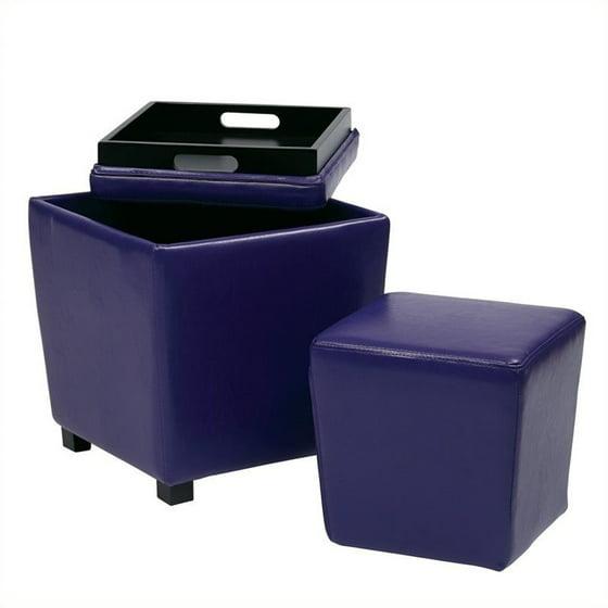 Fine Vinyl Storage Ottoman Multiple Colors Creativecarmelina Interior Chair Design Creativecarmelinacom