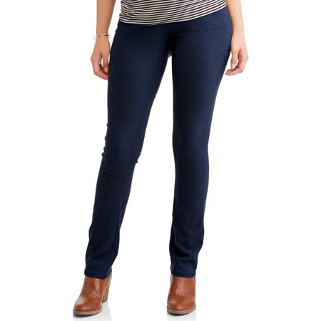 Maternity Stretch Twill 5 Pocket Bootcut Pants - Available in Plus Sizes