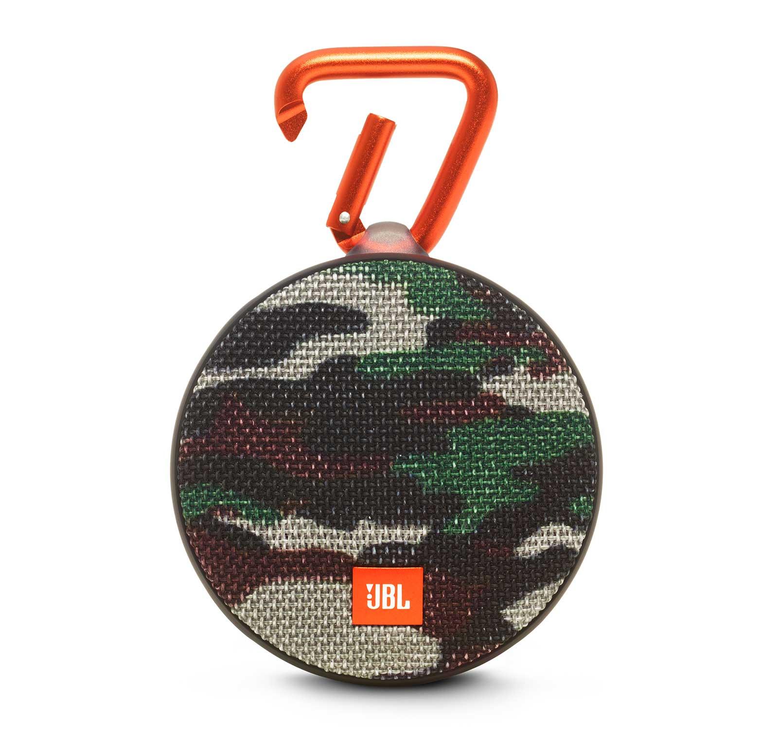 JBL Clip 2 Camouflage Portable Bluetooth Speaker