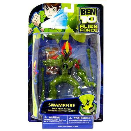 Ben 10 DNA Alien Heroes Swampfire Action Figure