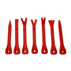 7 PC. PLASTIC PRY BAR SET
