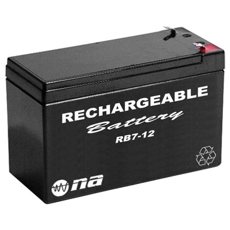 12v rechargeable battery 7ah nippon america. Black Bedroom Furniture Sets. Home Design Ideas