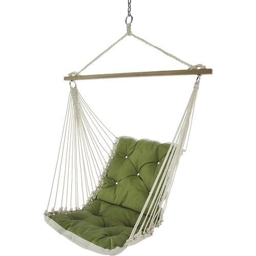 Bungalow Rose Wilcoxen Tufted Single Sunbrella Chair Hammock