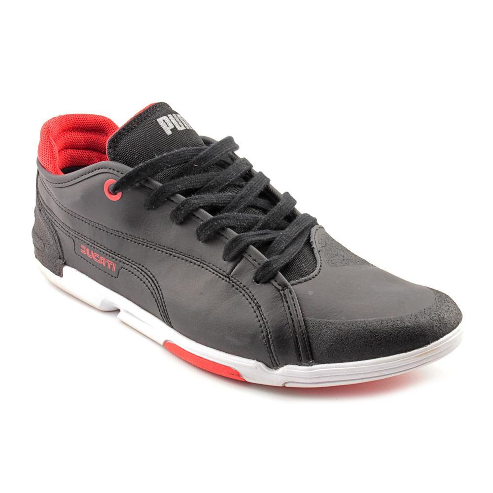 PUMA - Puma Men s Xelerate Low Ducati Nm Black   White   High Risk Red  Ankle-High Leather Fashion Sneaker - 14M - Walmart.com 4ba0b848e