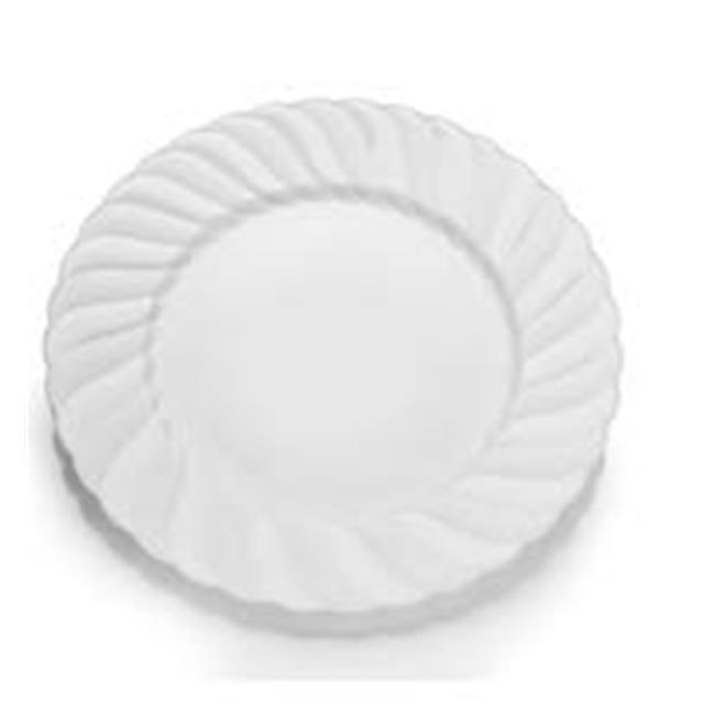 Elegant Disposable Hard Plastic Plates White - Case of 218 - 12 Case of 18  sc 1 st  Walmart Canada & CPC B7ELWP 7 in. Elegant Disposable Hard Plastic Plates White ...