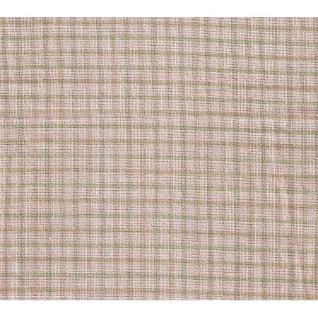 "Image of Patch Magic Brown Light Checks Fabric Euro Shams 26""X26"""