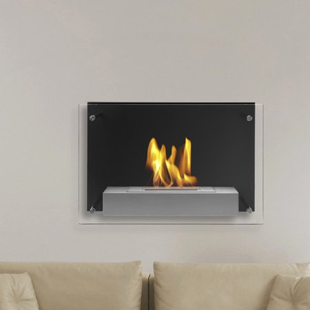 Ignis Products Senti Wall Mounted Ethanol Fireplace