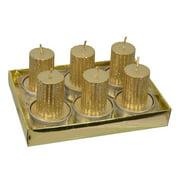 Pillar T-Lite Box 6Pc Candle