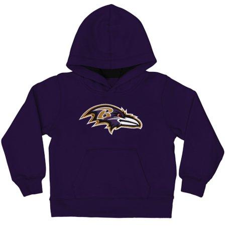 Baltimore Ravens Gear (Baltimore Ravens Toddler Fan Gear Primary Logo Pullover Hoodie -)