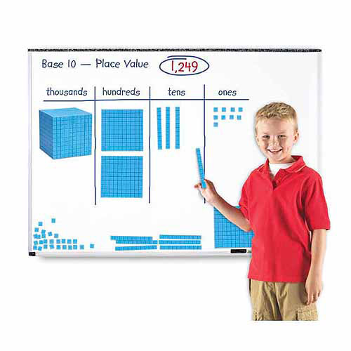 Learning Resources Giant Magnetic Base Ten Set