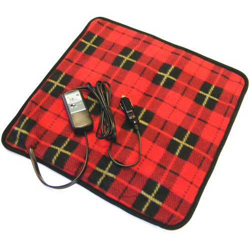 Car Cozy Mini, Red Plaid