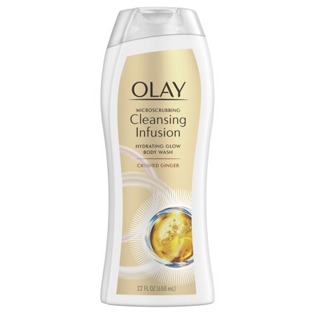 Ginger Infusion (Olay Microscrubbing Cleansing Infusion Crushed Ginger Body Wash, 22 oz )