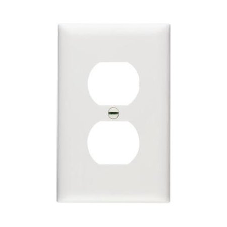 10 Pack White 1-duplex Nylon Wall Plates, Pass & Seymour, TP8WCP10