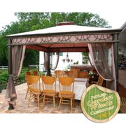 Garden Winds Replacement Canopy Top for the Grand Casual Gazebo, Riplock 350