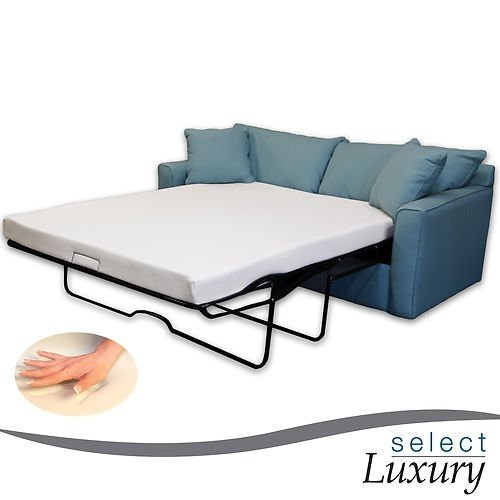 New Life 4.5in Memory Foam Mattress Pullout Bed for Sleeper Sofa (Twin)