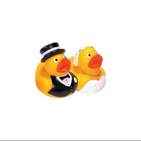Schylling Bride Amp Groom Rubber Duck Set Walmart Com