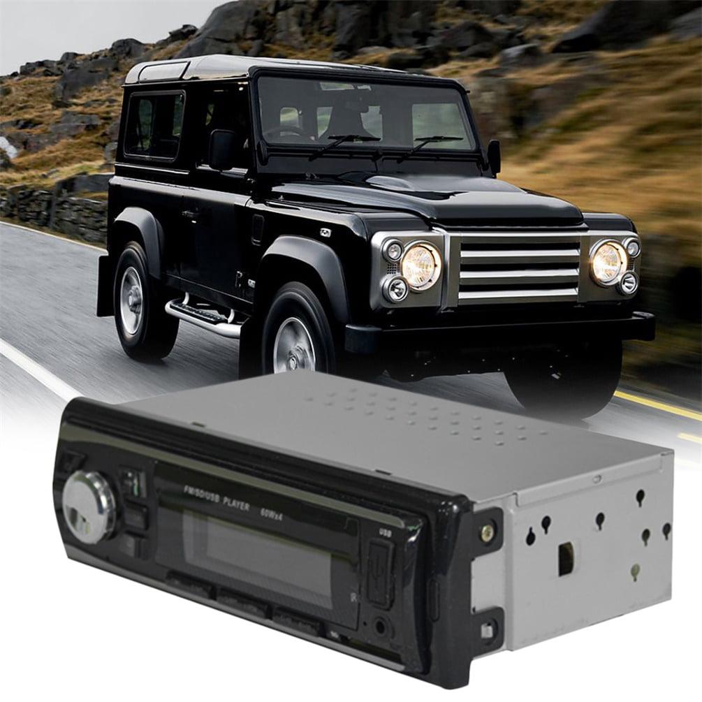 Auto Car Stereo Audio In-Dash FM Aux Input Receiver USB MP3-6101 Radio Player~~