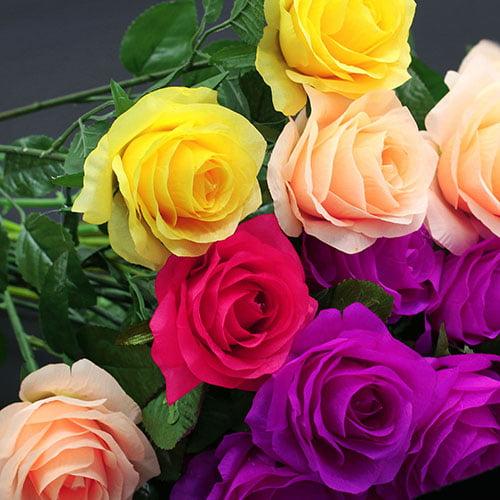 Moderna 1 Pc Artificial Flower Fake Rose Wedding Bridal Party Home Garden Decoration