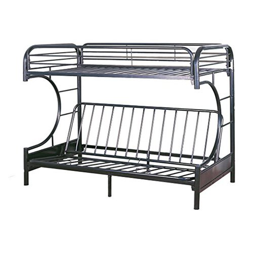 4d Concepts Zinnia Twin Loft Bed With Desk Black