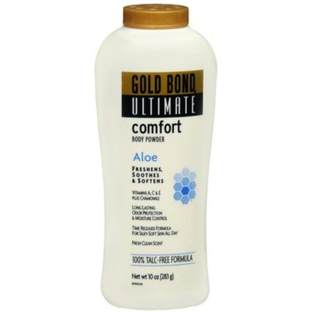 Gold Bond Ultimate Comfort Body Powder 10 oz (Pack of