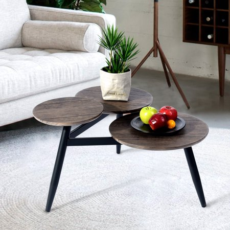 HOMY CASA Black Friday Small Coffee Table Side Table End Table ()