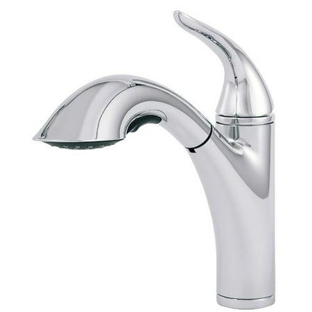 Danze Antioch Single Handle Deck Mounted Kitchen Faucet Danze Stainless Steel Faucet
