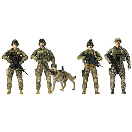 Elite Force 5-Pack Army Rangers Figures
