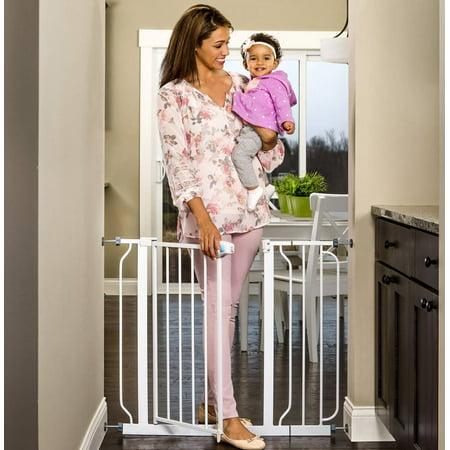 "Regalo Extra Wide Baby Gate, 29""-40"" with Walk Through Door"
