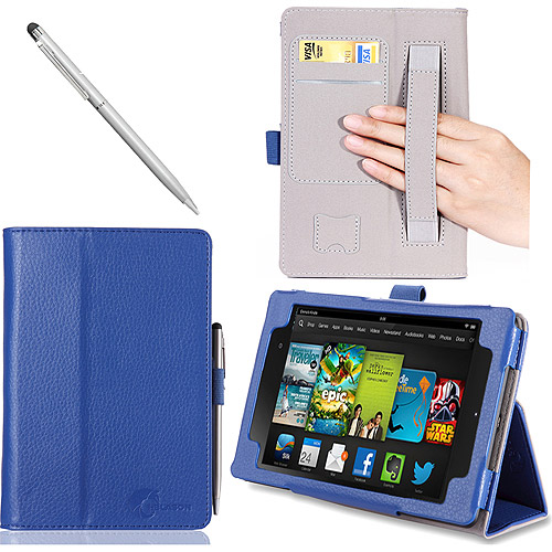"i-Blason Kindle Fire HDX 7"" Tablet Leather Case Cover"
