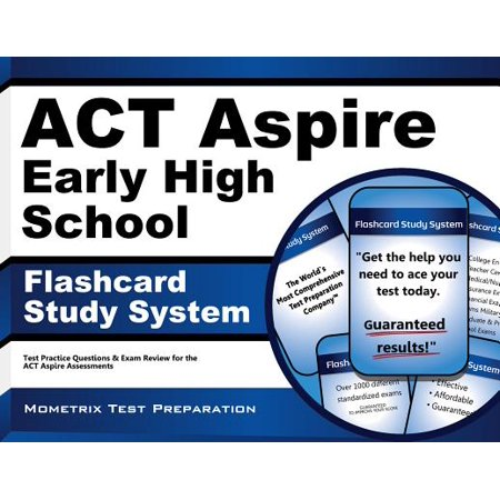 ACT Aspire Early High School Flashcard Study System: ACT Aspire Test Practice Questions & Exam Review for the ACT Aspire