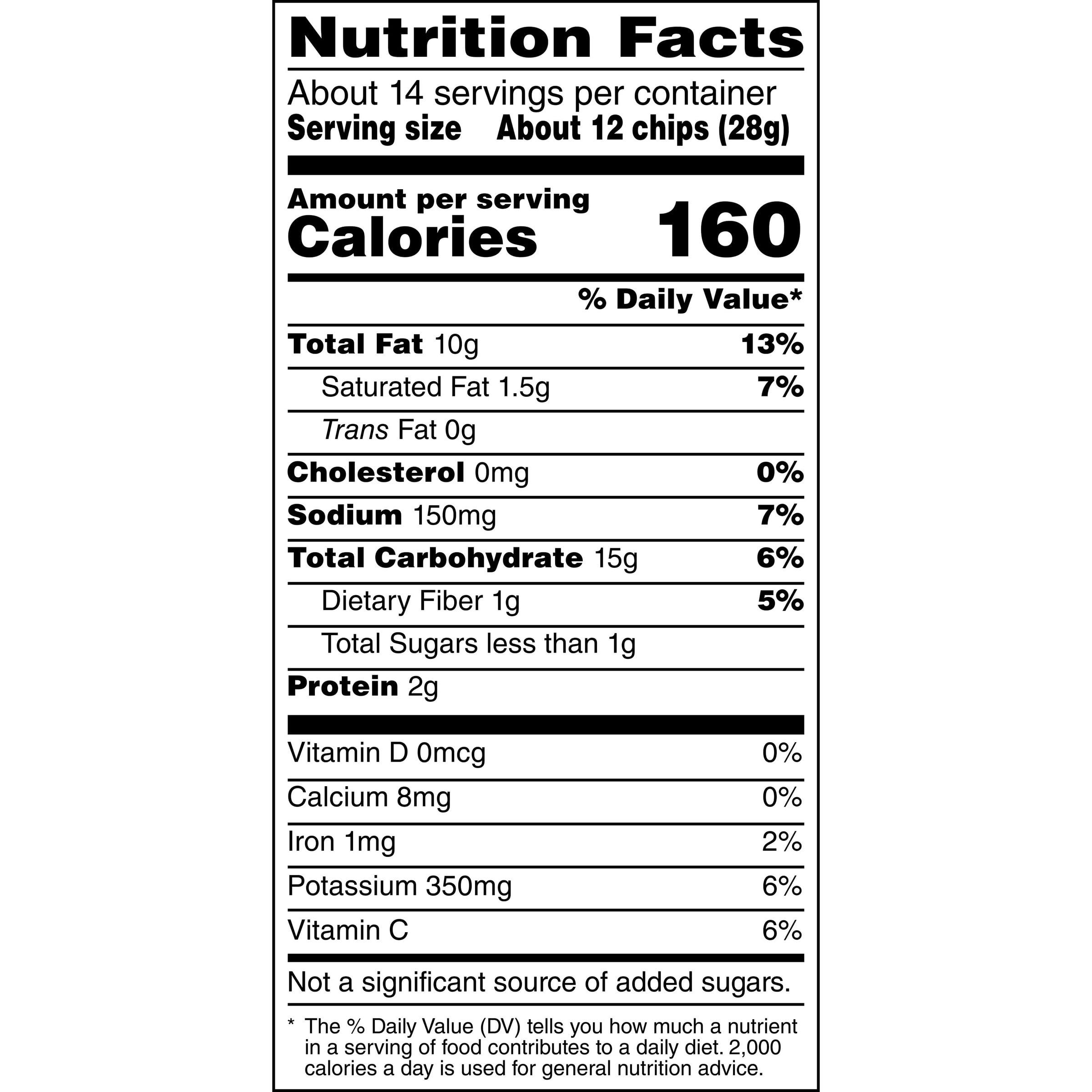 Ruffles Party Size Original Potato Chips, 14 5 Oz  - Walmart com