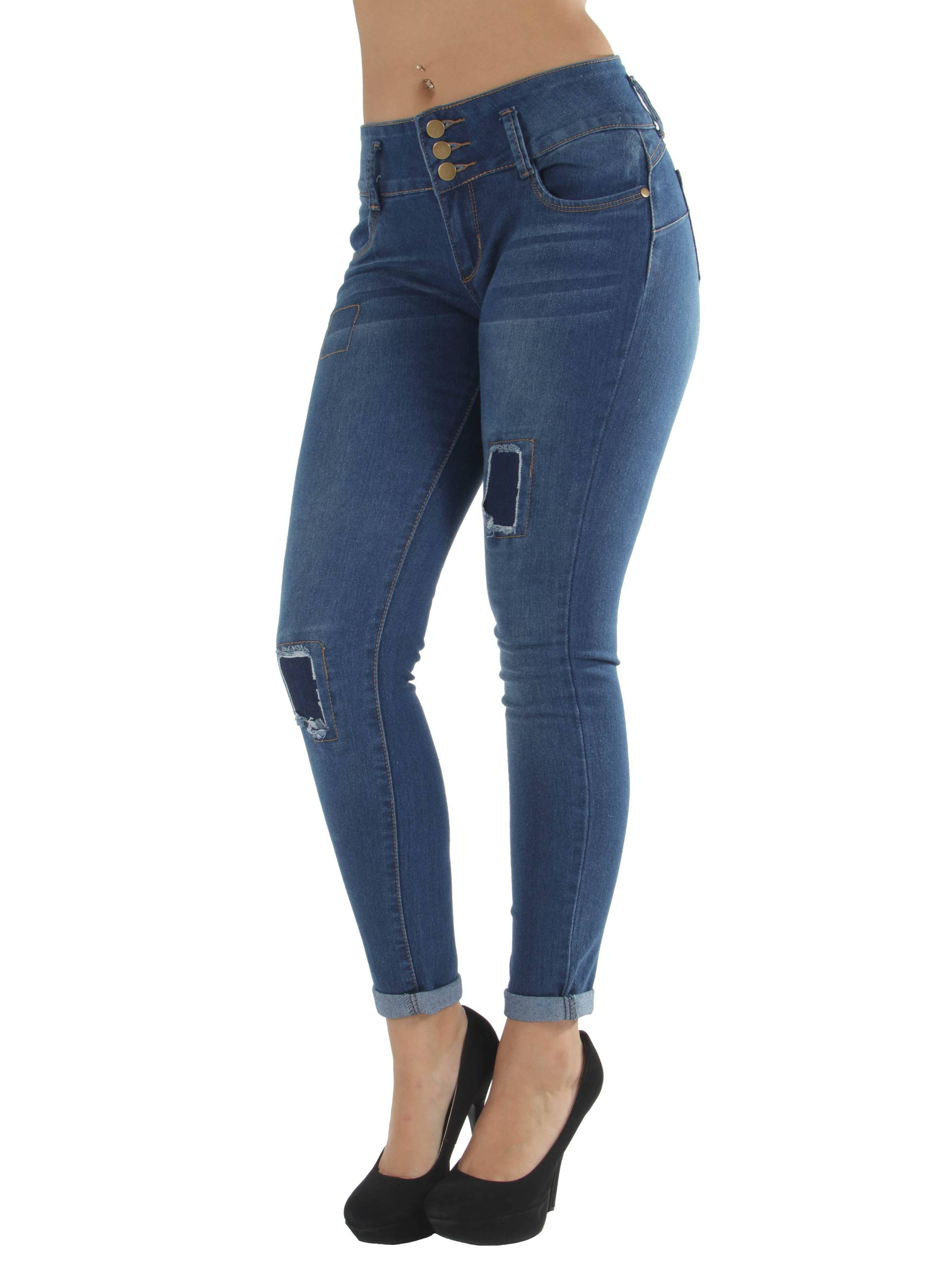 CB9-92673(S) - Butt Lifting, Levanta Cola, Rip and Repaired, Skinny Jeans