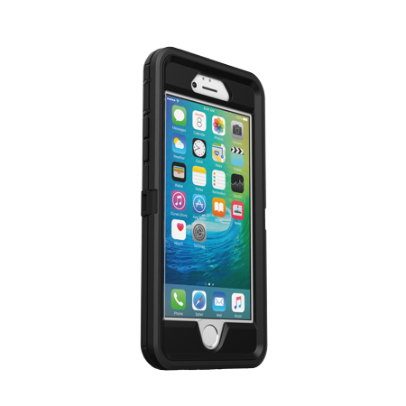 OtterBox Defender Pro Series Case for iPhone 6/6s, Black (Outter Box Case For Iphone 6s)