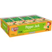 Keebler Pepper Jack Cheese Sandwich Crackers, 1.38 Oz., 8 Count