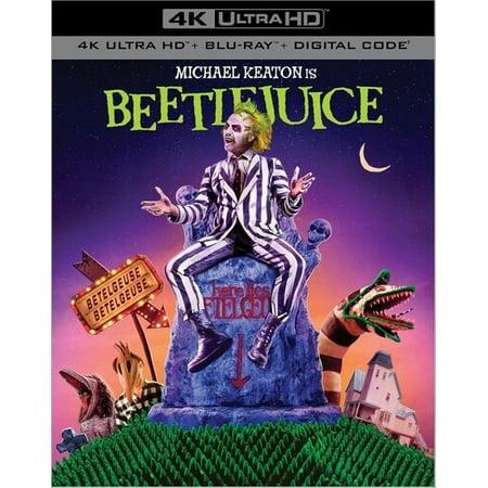 Beetlejuice (4K Ultra HD + Blu-ray + Digital Copy)