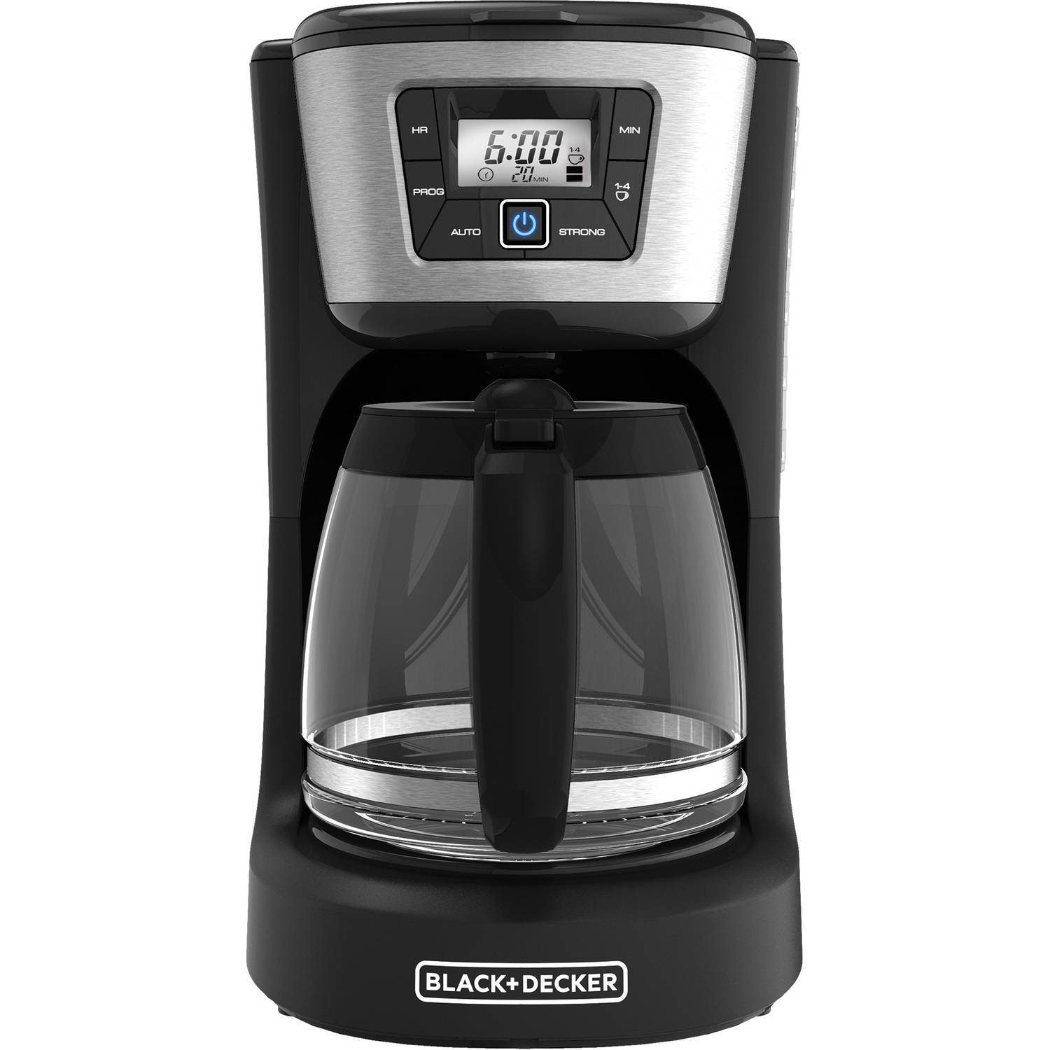 Black and decker coffee maker 12 cup programmable - Black decker 12 cup programmable coffee maker cm2030b