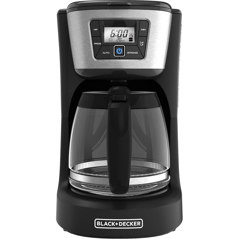 BLACK+DECKER 12-Cup Programmable Coffee Maker, CM2030B