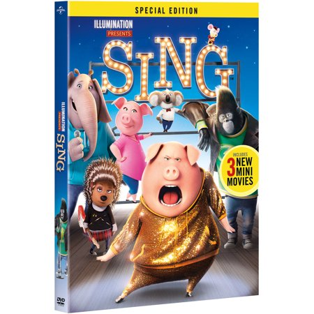 Sing (2016) (Special Edition) - Halloween Special Movie