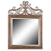 Uttermost Valonia Mirror in Heavily Antique Gold